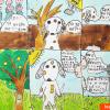 Komiks Pes uklízí